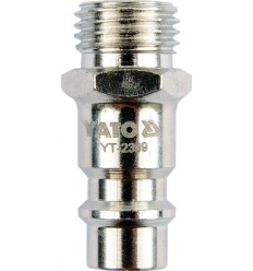 "Conector Rosca Macho 1/4"" 6.3MM"