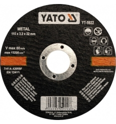 Disco de Corte para Metal 125x1.2MM