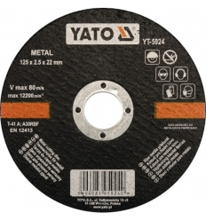 Disco de Corte para Metal 125x2.5MM