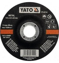 Disco de Corte para Metal 115 x 2.5 mm.