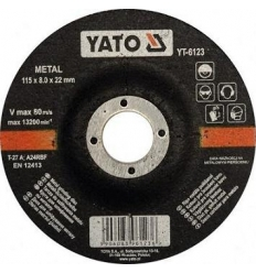 Disco de Corte para Metal 115 x 8.0 mm.