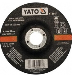 Disco de Corte para Metal 125 x 6.8 mm.